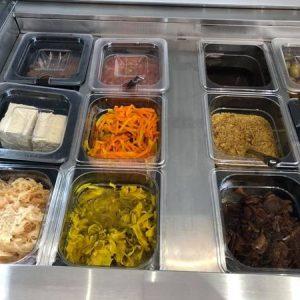 Pesto, chutney, confit, olives, etc