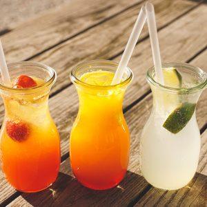 Jus, kombucha et autres boissons