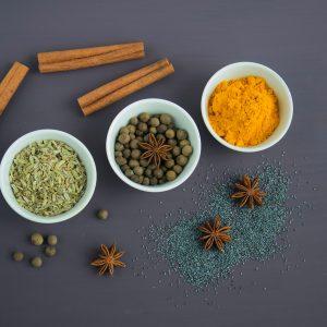 Sel, épices et aromates
