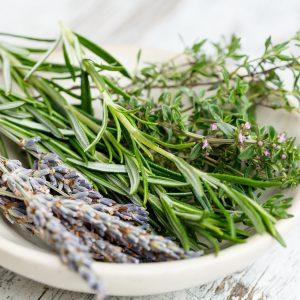 Légumes, fines herbes et algues (déshydratés)